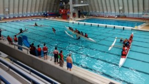 FCRCC Warm Water OC6, OC1 and surfski huli recovery @ Vancouver Aquatic Centre