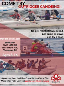 Youth try out for Outrigger Canoe - May 5, 2019