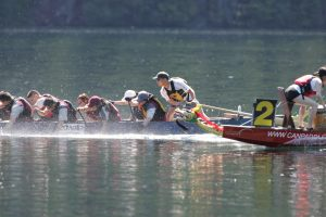 Dragon boat steering course - March 8, 2020